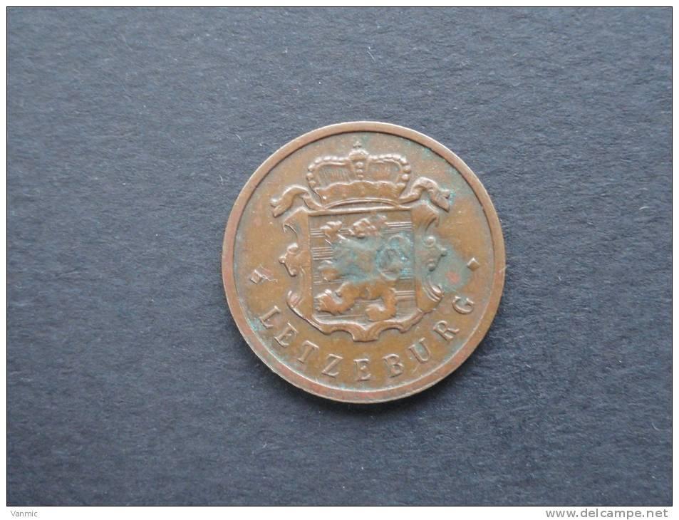 1947 - 25 Centimes - Luxembourg - Luxemburgo