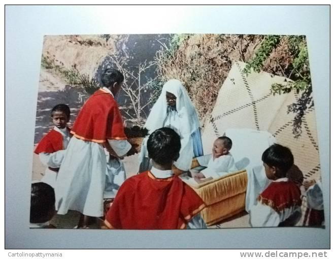 Natale Al Madagascar I Chirichetti Di Antanimena Tananarive  Missioni Dei Padri Gesuiti - Madagascar