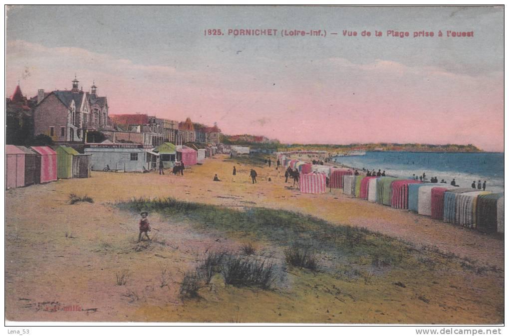 1825   -    PORNICHET   -   Vue Sur La Plage Prise à L'ouest - Pornichet