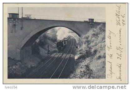 1943 Train De  Fontoy - Wittlich - Treinen