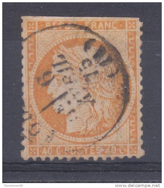 Lot N°16935   N°38, Oblit Cachet A Date à Déchiffrer - 1870 Siege Of Paris