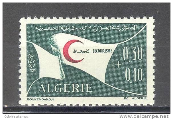 (SA0010) ALGERIA, 1971 (Algerian Red Crescent Society). Mi # 571. MNH** Stamp - Algérie (1962-...)