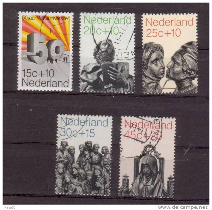 Nederland 1971 Nr  985-969 Zomerzegels ; - Period 1949-1980 (Juliana)