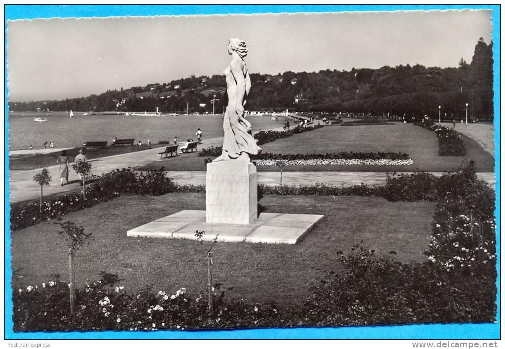 Switzerland -Geneve-La Statue De La Brise. (7257) - GE Geneva