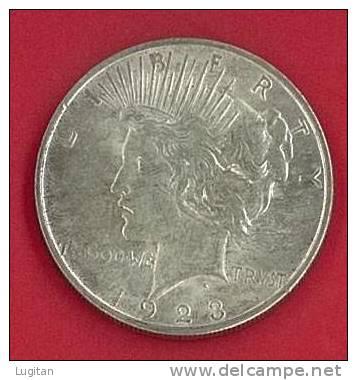 NUMISMATICA - 1 $ DOLLARO - USA Dollaro,1923 LIBERTY PEACE, PACE - One Dollar - SILVER - Émissions Fédérales