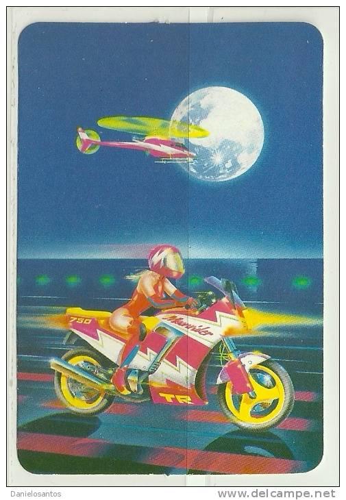 1995 Pocket Poche Bolsillo Calender Calandrier Calendario  Motorbikes Motorcycles Motos - Big : 1991-00