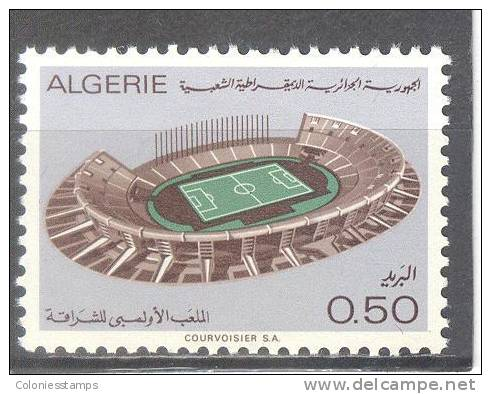 (SA0004) ALGERIA, 1972 (Olympic Stadium, Cheraga). Mi # 592. MNH** Stamp - Algérie (1962-...)