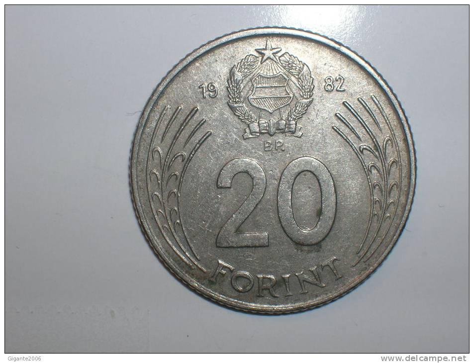 20 Forint 1982(1159) - Hungría