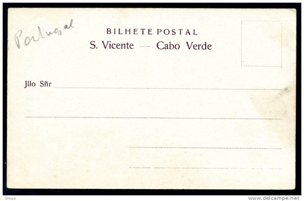 CPA.  PORTUGAL. CAP-VERT.   Sâo  Vicente. Cabo  Verde.    Maria Guidinha, Paquete E Manuel Joâo. - Portugal
