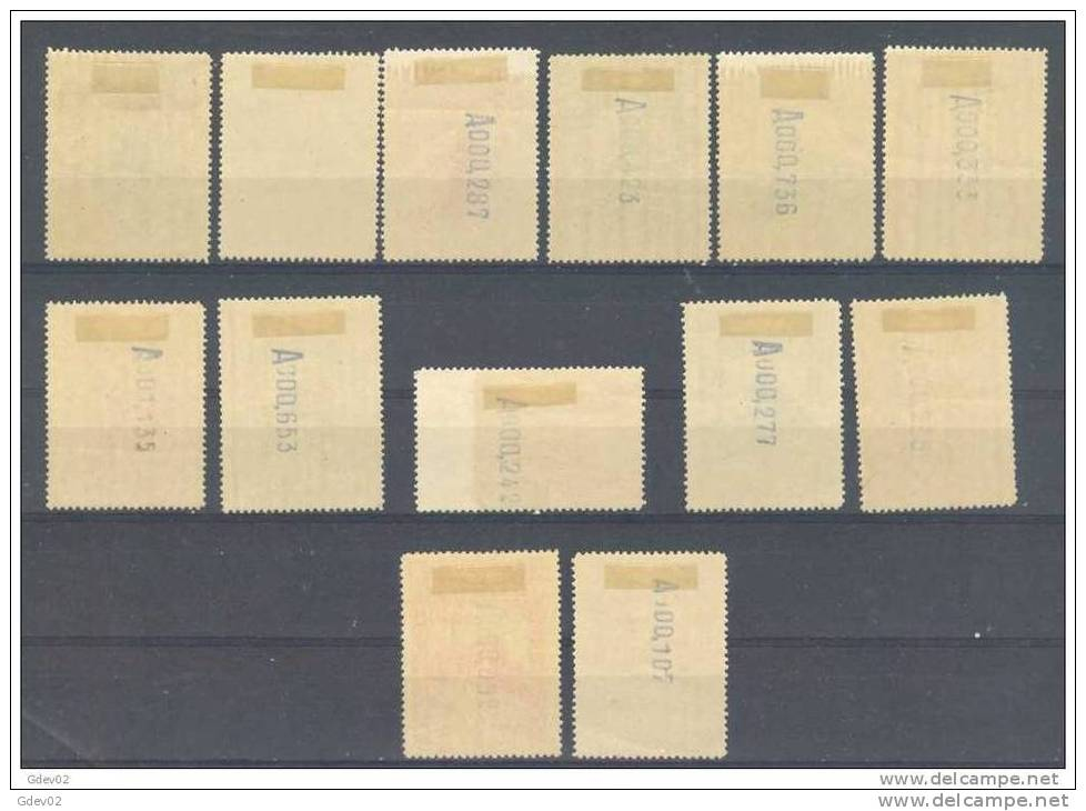 ES469-L2174TOSC.Spain Espagne CONGRESO INTERNACIONAL FERROCARRILES 1930 (Ed 469/82*)con Charnela, LUJO - Organizaciones