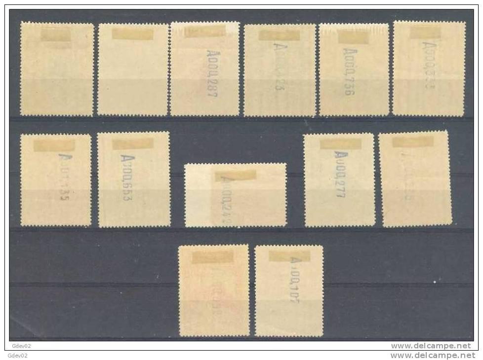 ES469-L2174.Spain Espagne CONGRESO INTERNACIONAL FERROCARRILES 1930 (Ed 469/82*)con Charnela, LUJO - 1889-1931 Reino: Alfonso XIII
