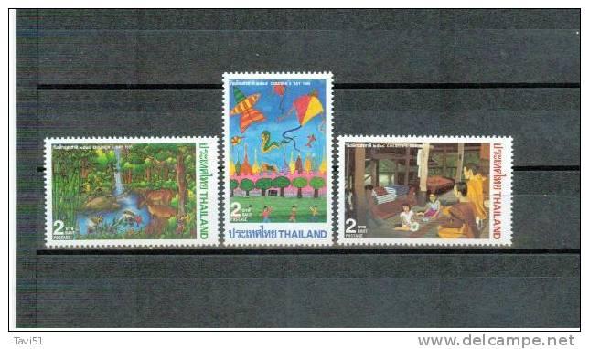 THAILAND , 1995 , ** , MNH , Postfrisch , Mi.Nr.1627 - 1629 - Tailandia