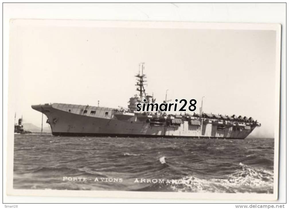 PORTE-AVIONS ARROMANCHE - Warships