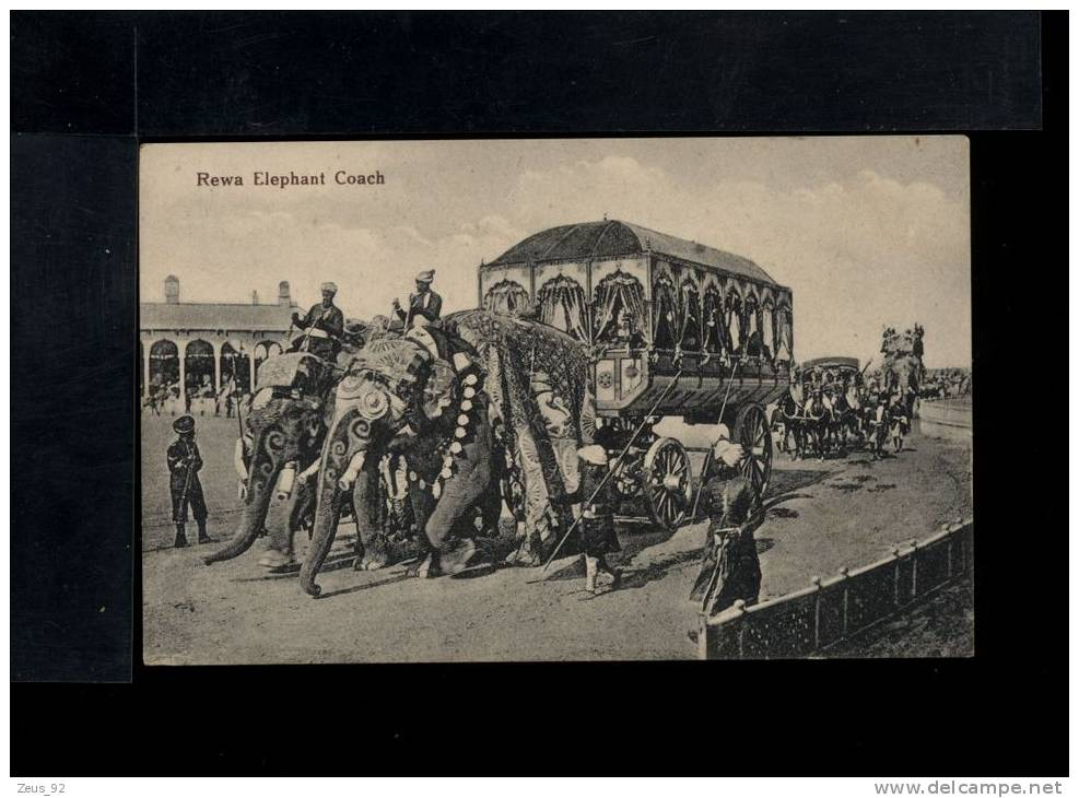 L2997 Rewa Elephant Coach - Elephants