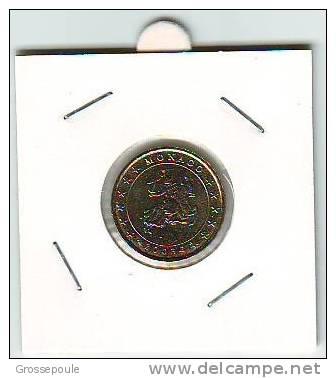 10 CENTIMES EURO MONACO - 2003 - UNC - Turkménistan