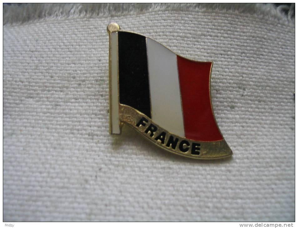 Pin´s du drapeau francais, bleu, blanc, rouge