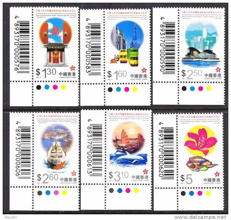 Hong Kong  793-8  **  STOP LIGHT CORNERS - Hong Kong (...-1997)