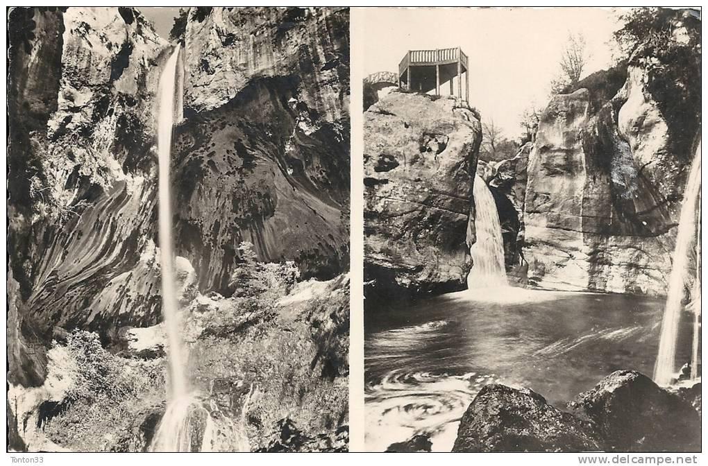 DEPT 06: La Cascade De COURMES Et Le Saut Du LOUP  210112 - Autres Communes