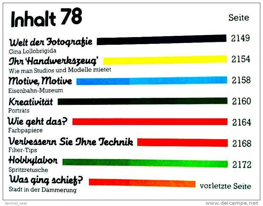 7 Zeitschriften FOTO PRAXIS Heft 78 Bis 84 , Der Kreative Weg Zum Besseren Foto , Von 1981- 1982 - Hobbies & Collections