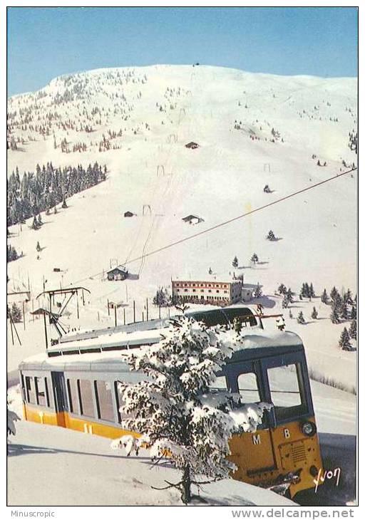 CPM 74 - Massif Du Mont Blanc - Le Tramway Du Mont Blanc Au Prarion - Sin Clasificación