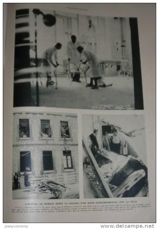 L´Illustration N°4880 - 12 Septembre 1936. Le Séjour En France Du Généralissime Polonais. - L'Illustration