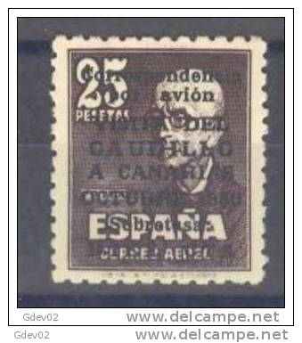 ES1090-L1580TASC.Espagne. Spain.Manuel  De Falla.FRANCO.VISITA  A CANARIAS.1951.(Ed 1090**). Sin Charnela.LUJO - Sin Clasificación