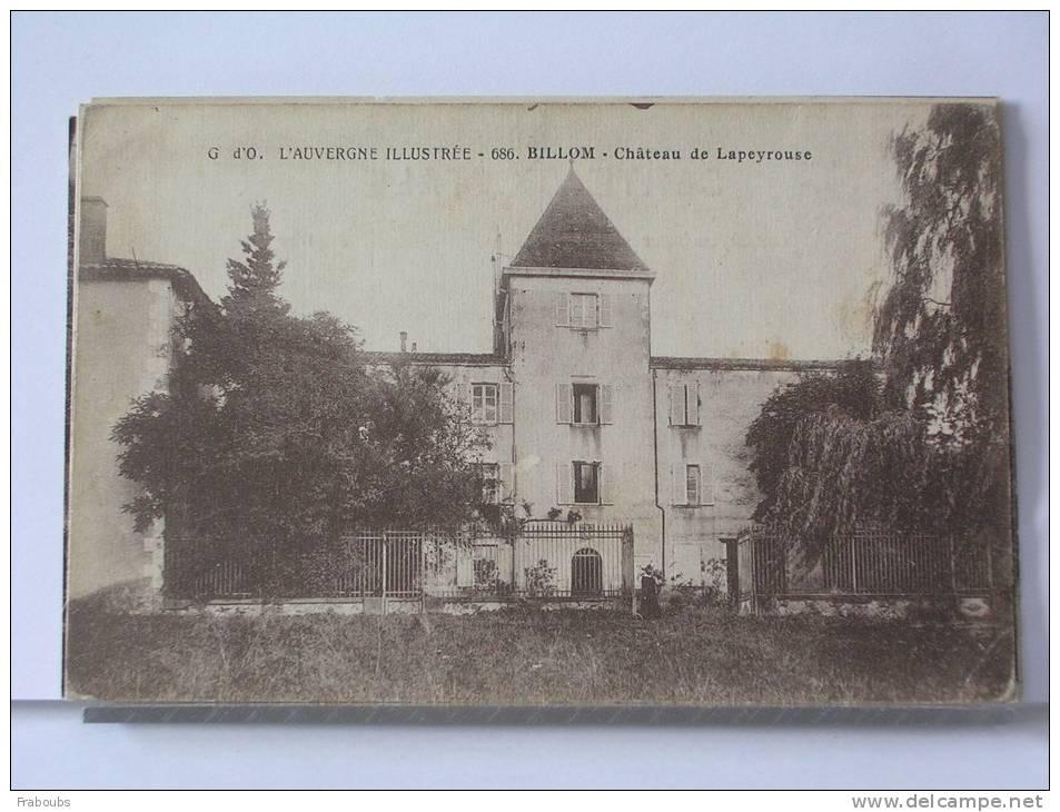 (63) - BILLOM - CHATEAU DE LAPEYROUSE - France