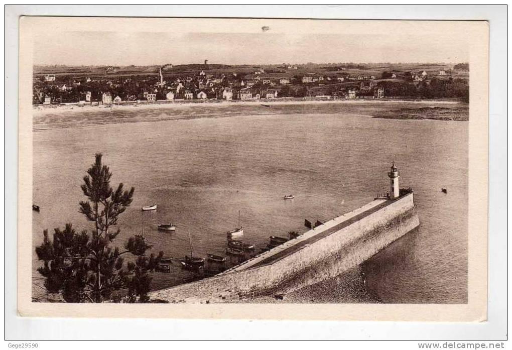 """22,,cotes D´Armor ;  Erquy """"  Le  Port & La Jetée """"   état ;    Bien,,, ,,,  Voir Le Scan,,,,, - Erquy"""
