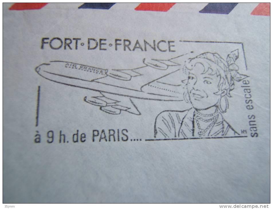 Flamme Martinique 4/10/1966 - Martinica (1886-1947)