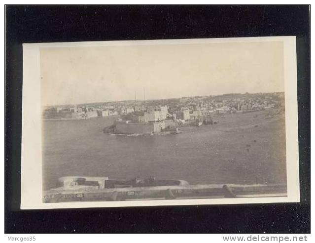 Photo Format 8,6 X 13,8 Cms Taken From Valetta  Malta , Malte - Malta