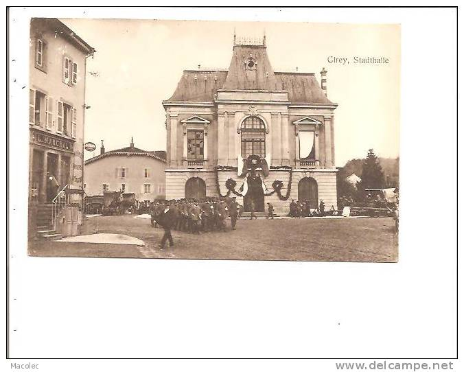 54 CIREY STADTHALLE - Cirey Sur Vezouze