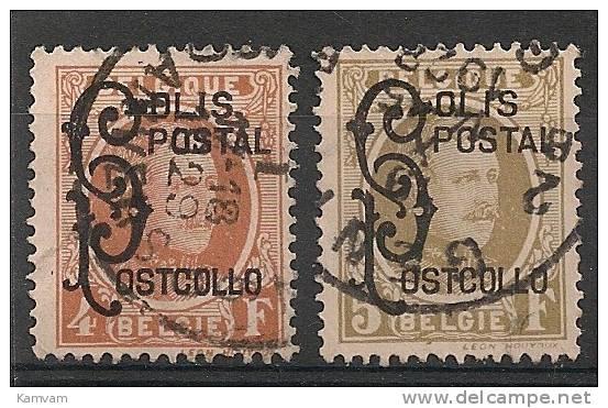 BELGIE BELGIQUE TR168/69 Cote 3.50€ Oblitéré Gestempeld Used - 1923-1941