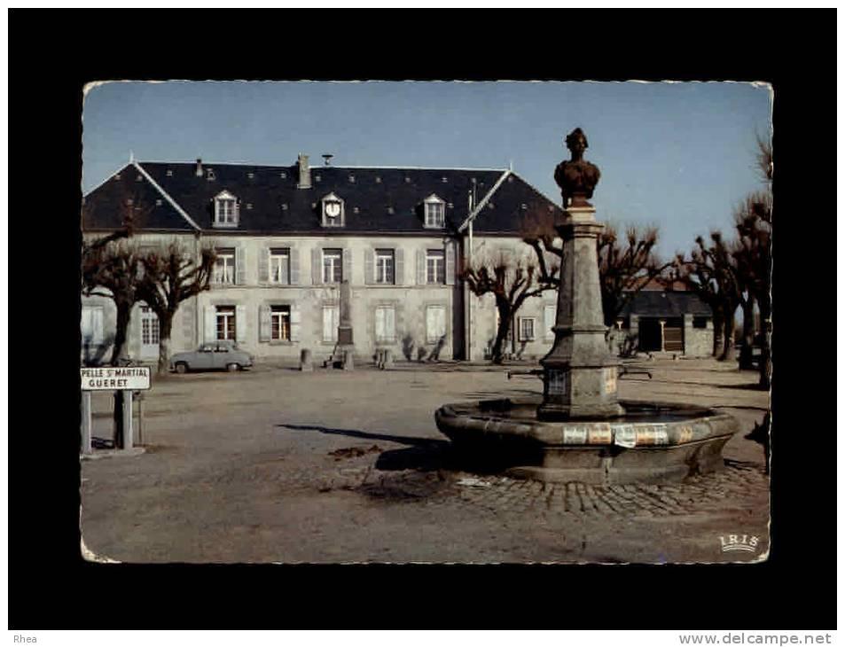 23 - SAINT-GEORGES-LA-POUGE - La Place Saint-Georges - 23/199 - France