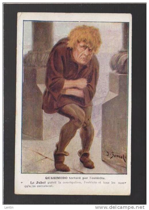 Sante -  Medicament - Jubol, Enterite - Quasimodo, Victor Hugo, Notre-dame De Paris - Santé