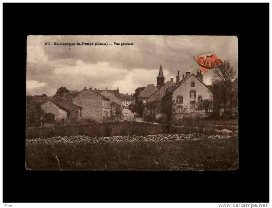 23 - SAINT-GEORGES-LA-POUGE - Vue Générale - 077 - France