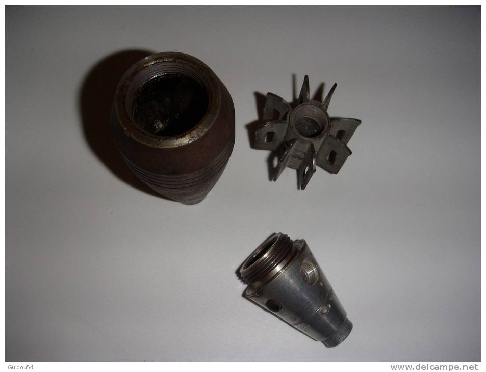 Coup De Mortier 60mm  De 1944 - Decotatieve Wapens