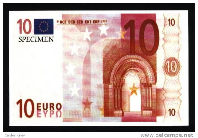 CP 10 Euros (N° 365) - Monnaies (représentations)