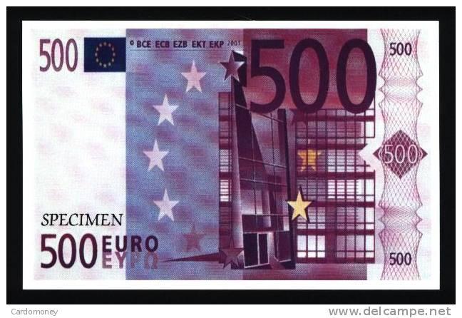 CP 500 Euros (N° 366) - Monnaies (représentations)