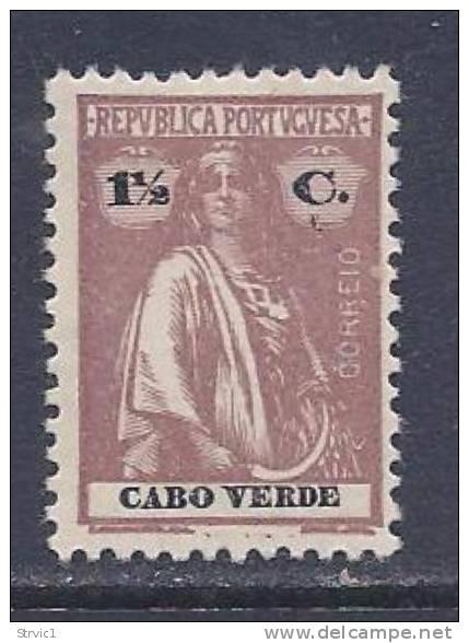 Cape Verde, Scott # 148 Unused No Gum  Ceres, Perf 12 By 11 1/2, 1914 - Cape Verde