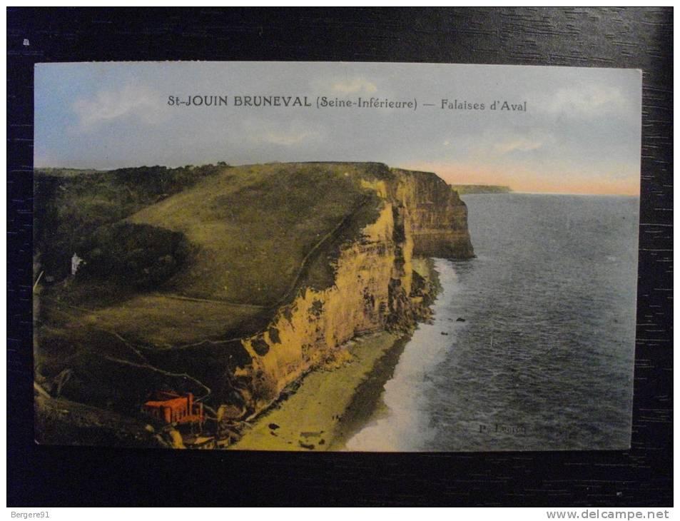ST JOUIN BRUNEVAL SEINE MARITIME FALAISES  D AVAL - France