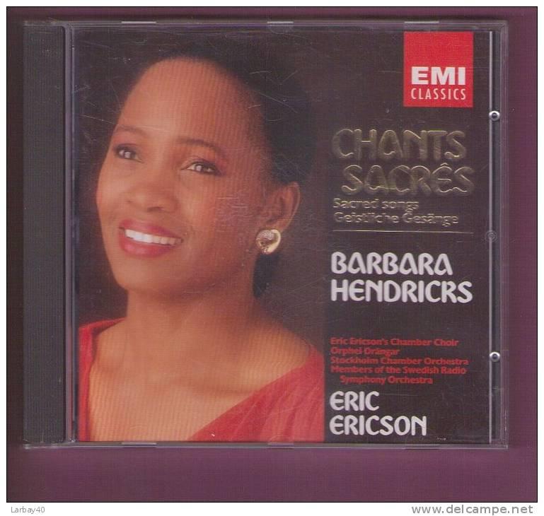 1 Cd Barbara Hendricks Chants Sacres - Klassik