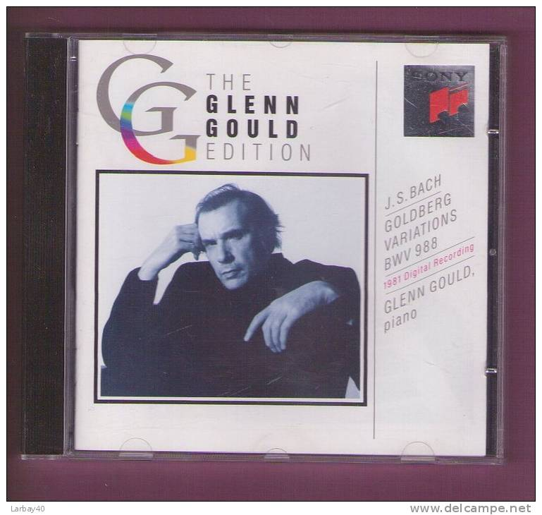 1 Cd Glenn Glould Golberg Variations - Klassik