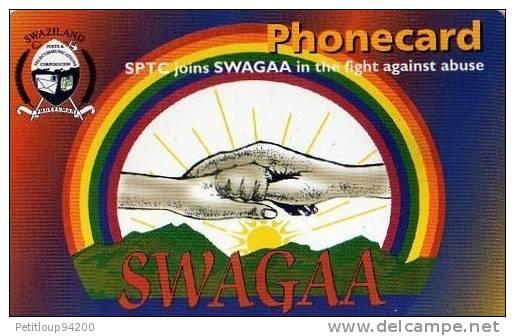 TELECARTE  SWAZILAND  E10  SWAGAA  *** - Swaziland