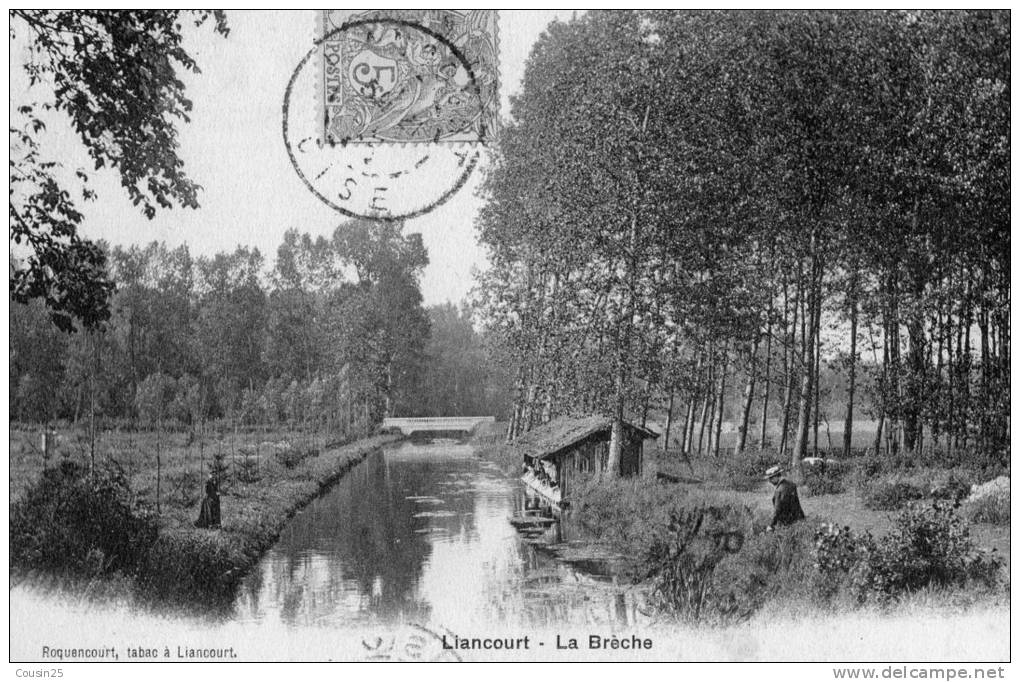 60 LIANCOURT - La Brèche - Liancourt