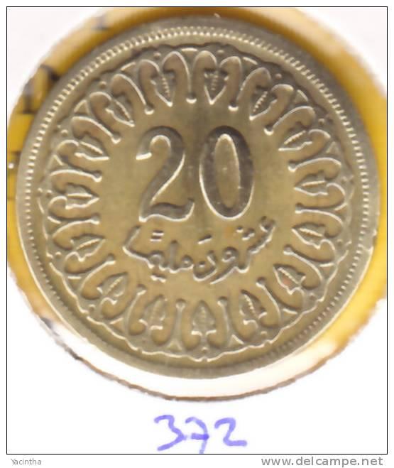 @Y@   Tunesie  20 Millim  1960  ?   (372) - Tunisie