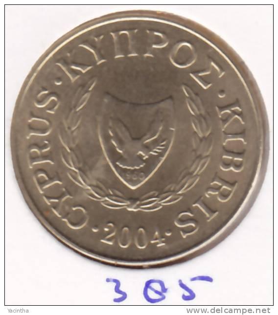 @Y@  Cyprus  5 Ct  2004     (385) - Chypre