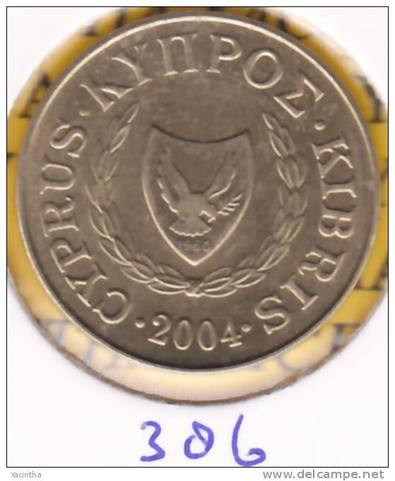 @Y@  Cyprus  5 Ct  2004     (386) - Chypre