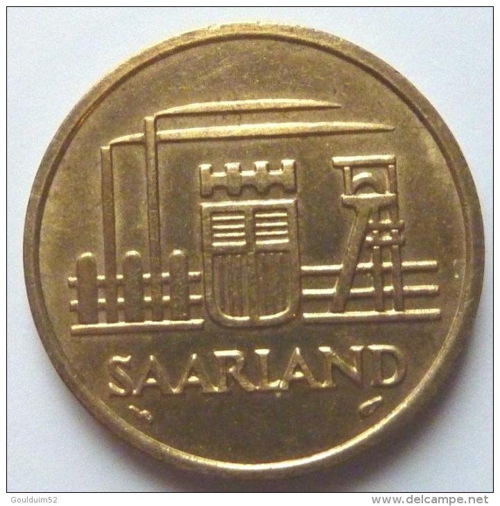 Cinquante  Franken 1954 - Saar