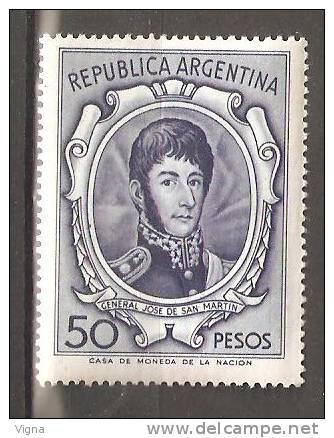 OM003  - ARGENTINA - Yvert &Tellier  N° 552 ** - Géneral San Martin - Argentina