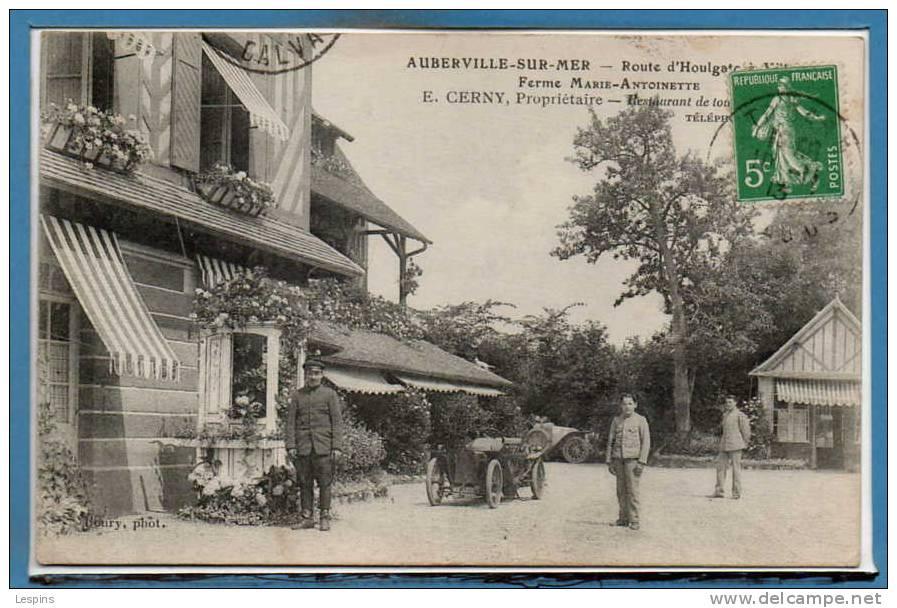 14 - AUBERVILLE Sur MER --  Ferme Marie Antoinette - Autres Communes
